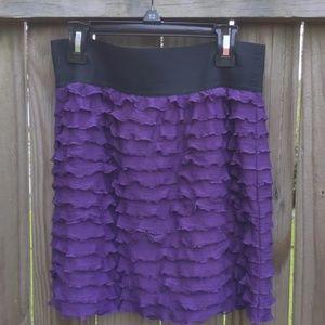 Junior's ruffle skirt